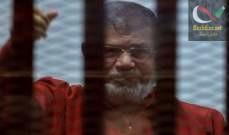 صورة اعتقال عبد الله محمد مرسي النجل الأصغر للرئيس المصري المعزول