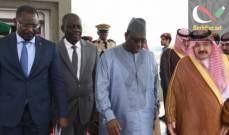 صورة رئيس جمهورية السنغال وصل إلى جدة في السعودية