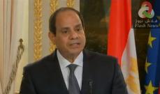 صورة السيسي: جيشنا قوي وقادر على الدفاع عن مصر داخل وخارج حدودها