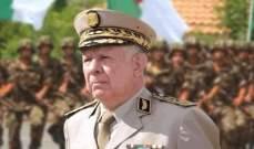 صورة رئيس أركان جيش الجزائر: سنعيد الاعتبار إلى بحريتنا كقوة في المتوسط