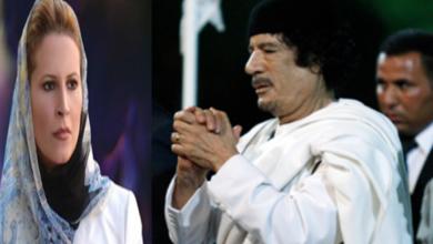 صورة لماذا أوصى معمر القذافي – رحمه الله – أبناءه باللجوء الى الجزائر هربا من بطش الناتو … عائشة القذافي تجيب …